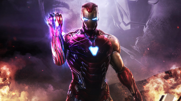 Iron Man 3d Wallpaper For Android Iron Man Infinity Gauntlet 4k Hd Superheroes 4k