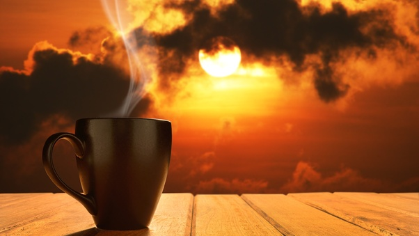 Photography Wallpaper Hd 1080p Morning Coffee Sun Rising Hd Others 4k Wallpapers