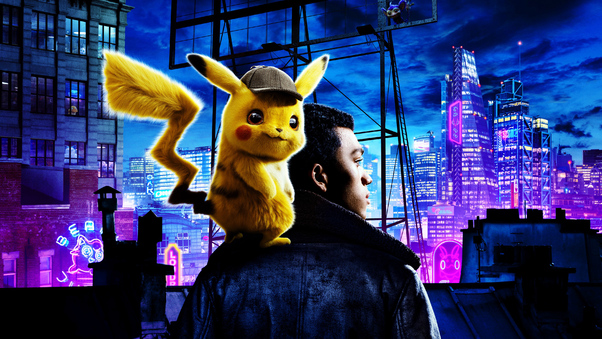Lock Screen Cute Wallpaper Pokemon Detective Pikachu Movie 4k Hd Movies 4k