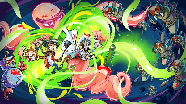 Cute Pickle Wallpaper Rick And Morty Artwork 4k Hd Tv Shows 4k Wallpapers