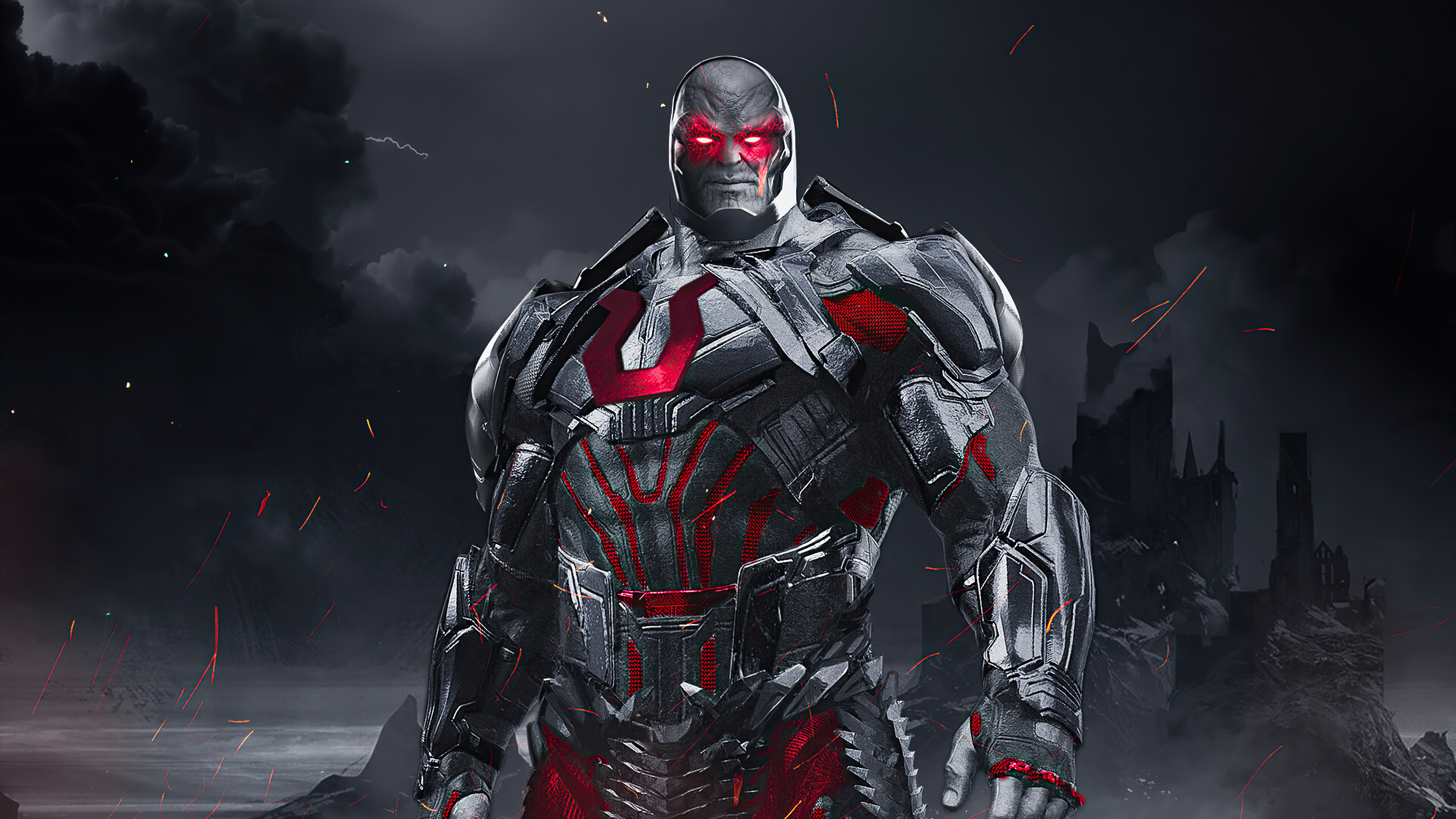 Darkseid Apokolips. HD Superheroes. 4k Wallpapers. Images. Backgrounds. Photos and Pictures