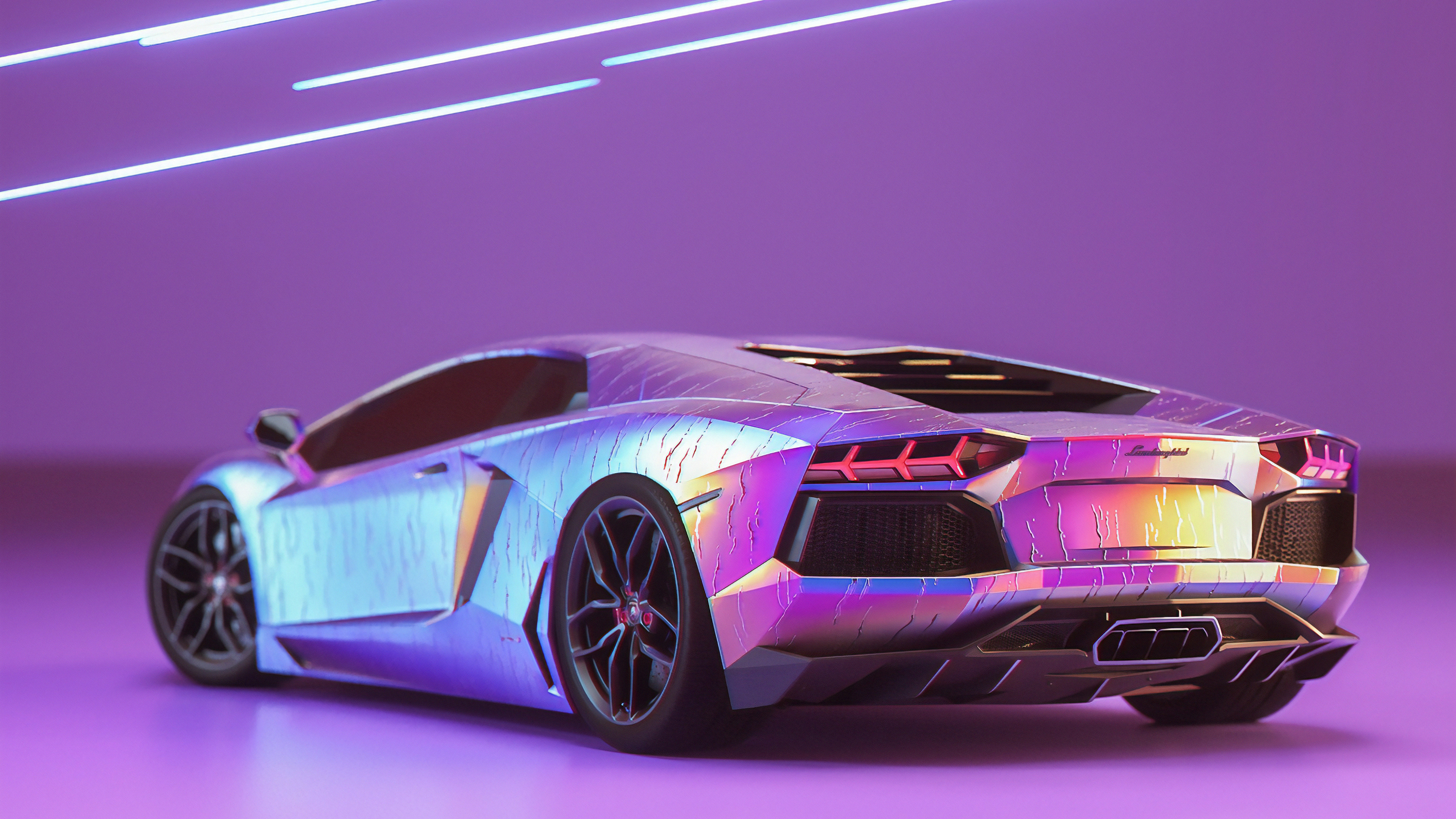In 1962, ferruccio lamborghini decided to build a better sports car than ferrari. Lamborghini Aventador New Rear Hd Cars 4k Wallpapers Images Backgrounds Photos And Pictures