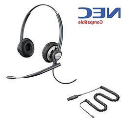 NEC Compatible Plantronics EncorePro 720 Headset Bundle