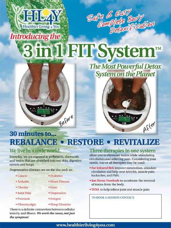 Foot Spa Color Chart : color, chart, Cleanse, Color, Chart:, Change, Water, Mean?