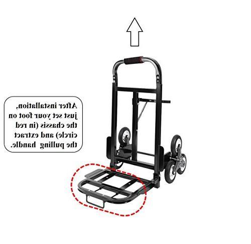Mecete Stair Climbing Cart Portable Climbing Cart 330