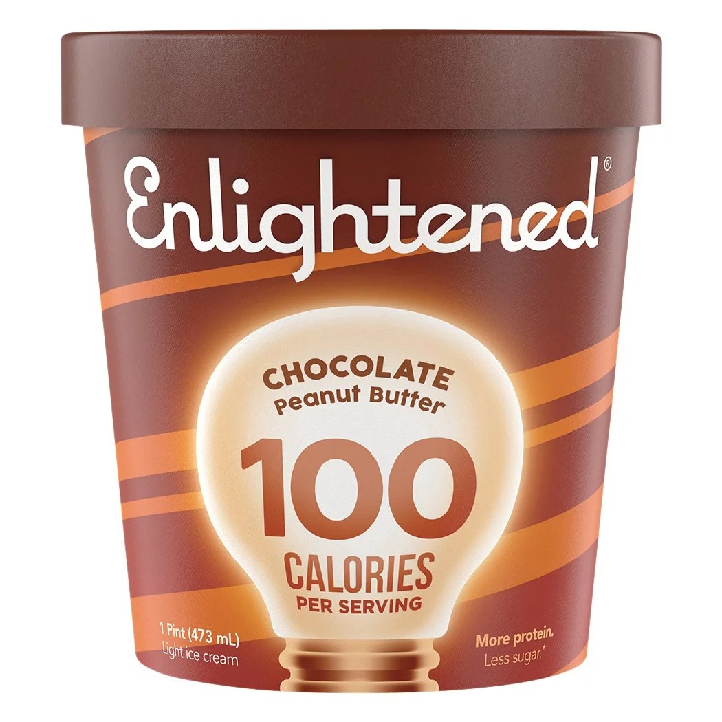Enlightened Chocolate Peanut Butter Ice Cream - Shop Ice ...