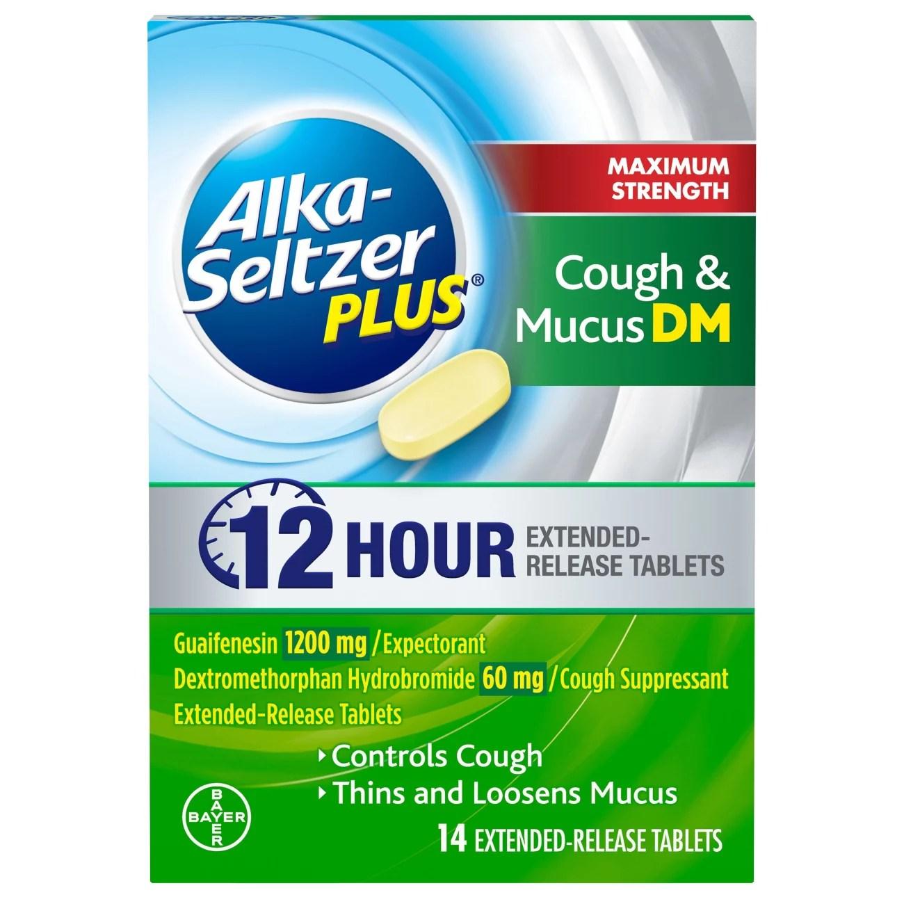 Alka-Seltzer Plus Maximum Strength Cough & Mucus DM - Shop ...