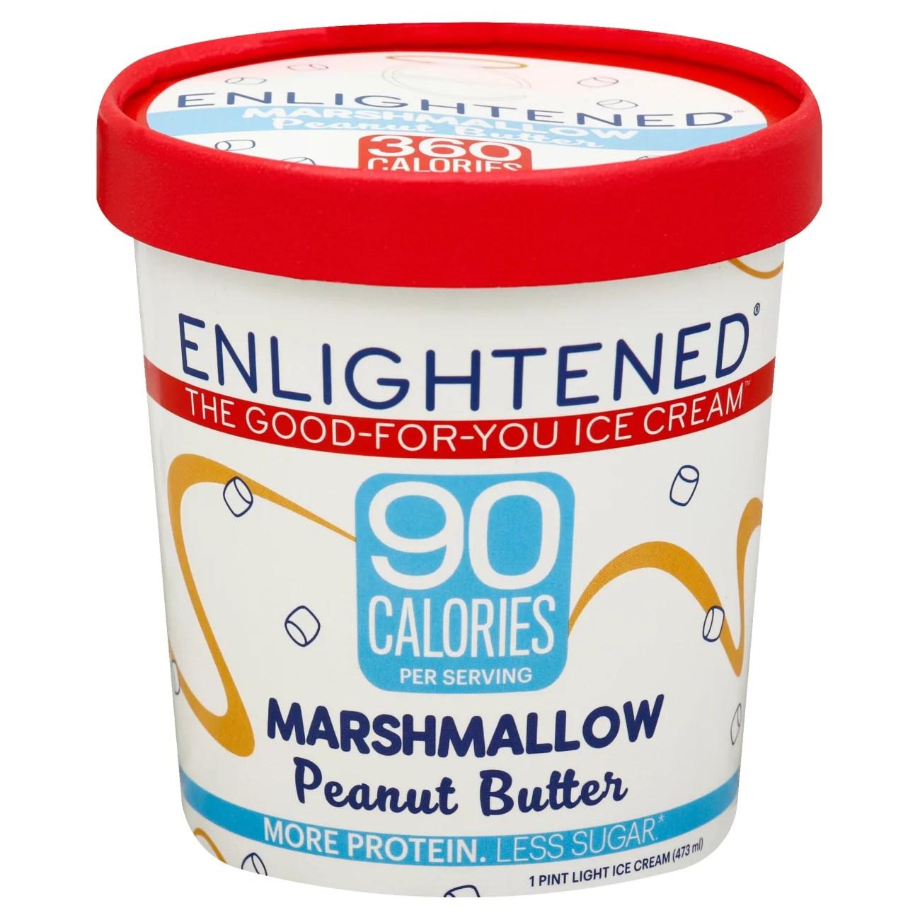 Enlightened Marshmallow Peanut Butter Ice Cream - Shop Ice ...