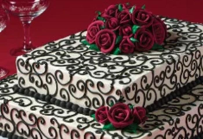 Savvy Bride Wedding Cake Designs Heb