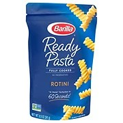 Barilla Ready Pasta Rotini Shop Pasta at HEB