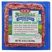 HEB Angus 85 Lean Ground Beef Shop Ground Beef at HEB