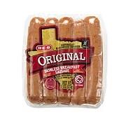 H-E-B Original Skinless Breakfast Sausage - Shop Breakfast ...