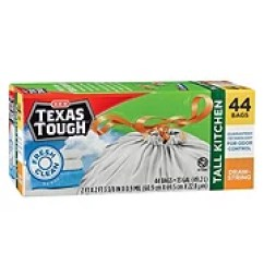 Kitchen Garbage Bags Glass Table Sets Trash Shop H E B Everyday Low Prices Texas Tough Fresh Clean Scent Drawstring Tall 13 Gallon