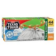 kitchen bags home depot faucets moen trash shop h e b everyday low prices texas tough fresh clean scent drawstring tall 13 gallon