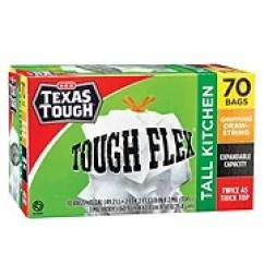 Kitchen Bags Retro Design Trash Shop H E B Everyday Low Prices Texas Tough Flex Gripping Drawstring Tall 13 Gallon