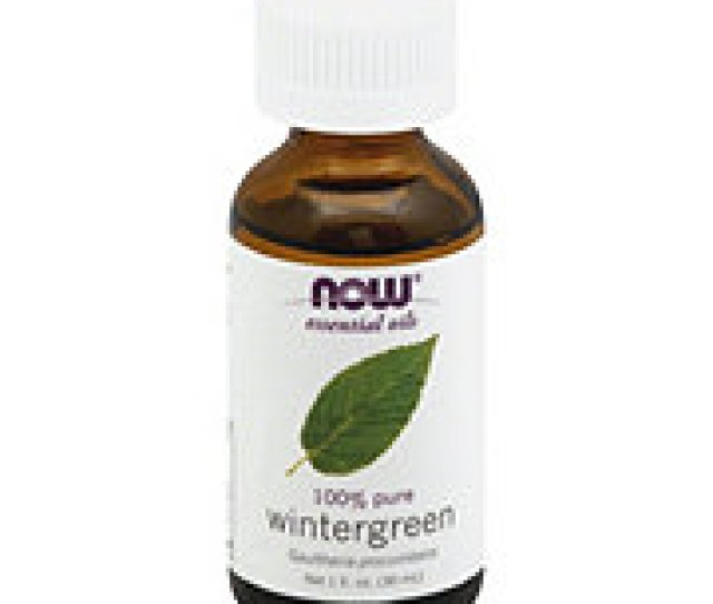 Now Essential Oils  Pure Wintergreen Oil