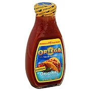 Ortega Original Medium Taco Sauce Shop Salsa Dip at HEB