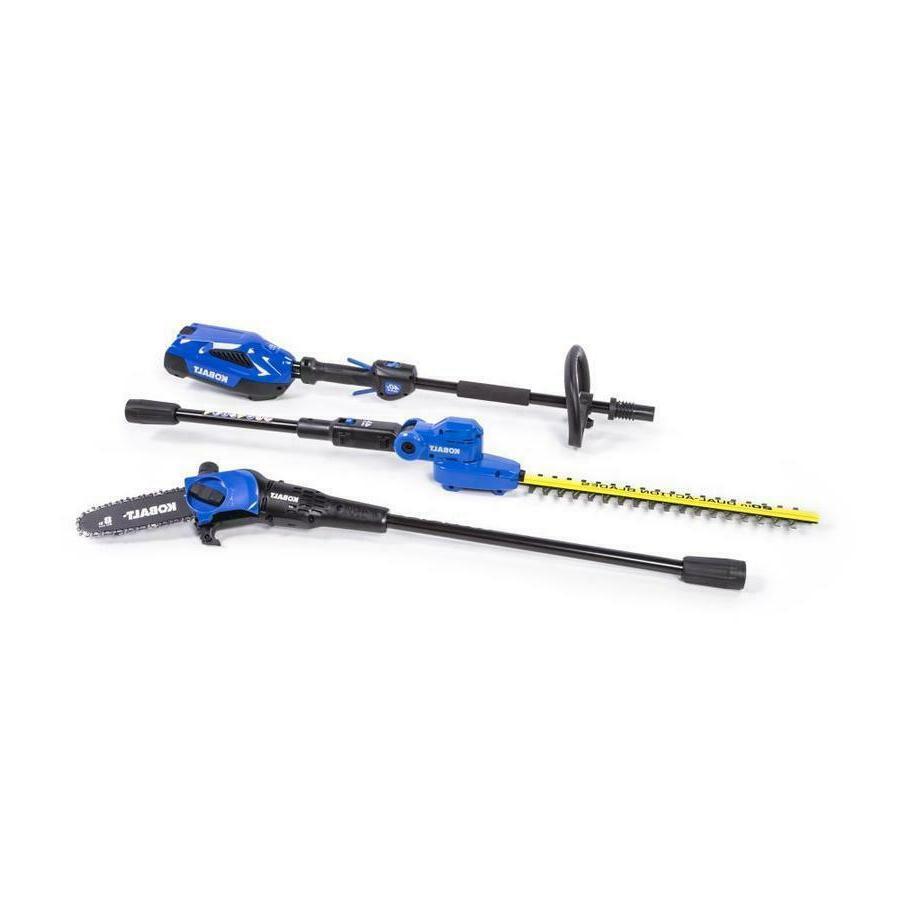 Kobalt 2-Piece 40-volt Cordless Combo Kit 20-in Pole