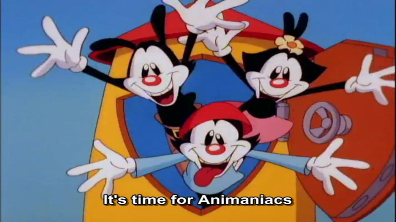 Blue Eyes Song Girl Wallpaper Zomg Quot Animaniacs Quot Are Reuniting And Touring The U S