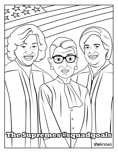 Sharpen your crayons, this free #SquadGoals coloring book