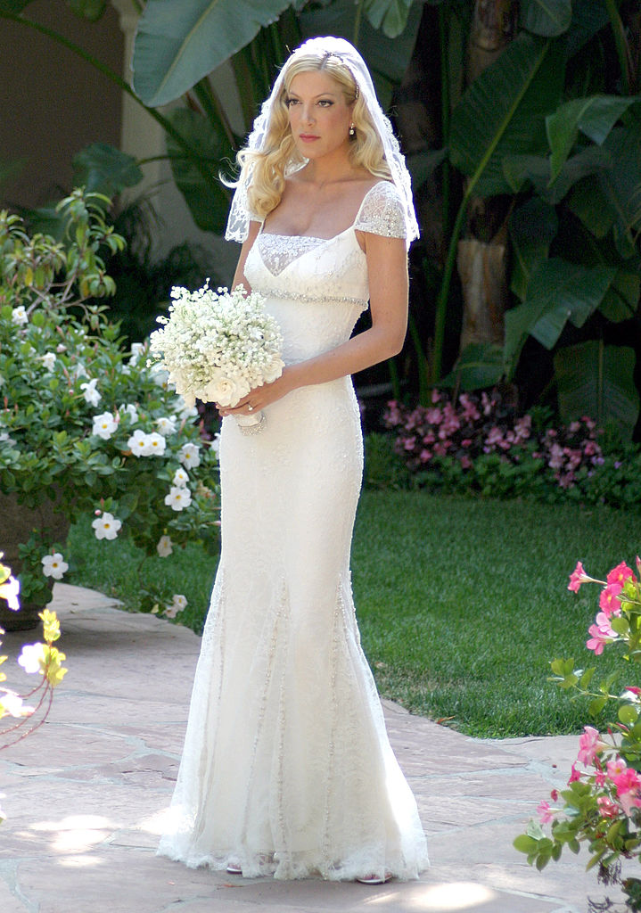 19 iconic celebrity wedding dresses that are still goals today