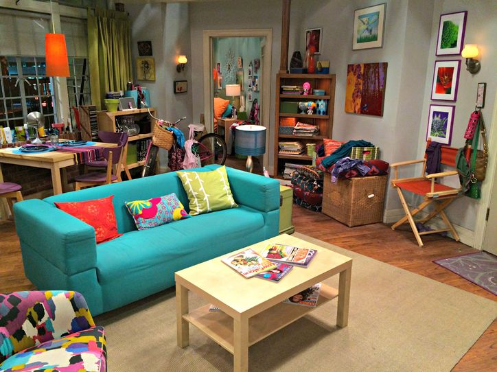 This is how much Pennys apartment on The Big Bang Theory