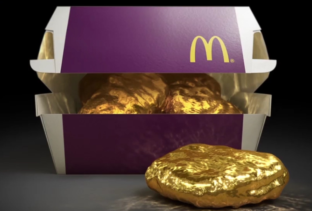 The Search Is On For McDonalds 18 Karat Gold Chicken McNugget
