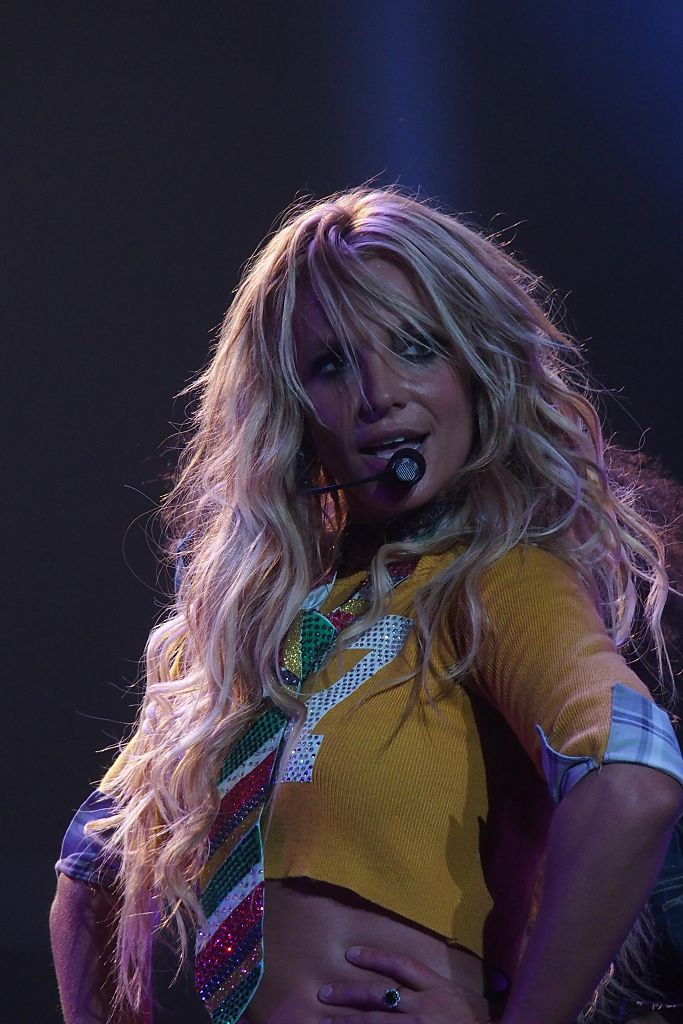 Britney Spears at the Planet Hollywood Resort  Casino in