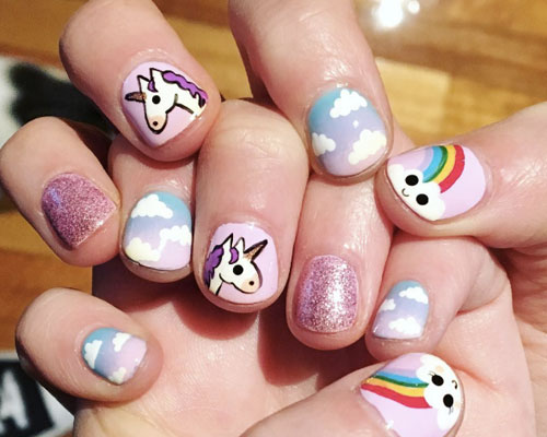 These Unicorn Manicures Are Everything We Need Right Now