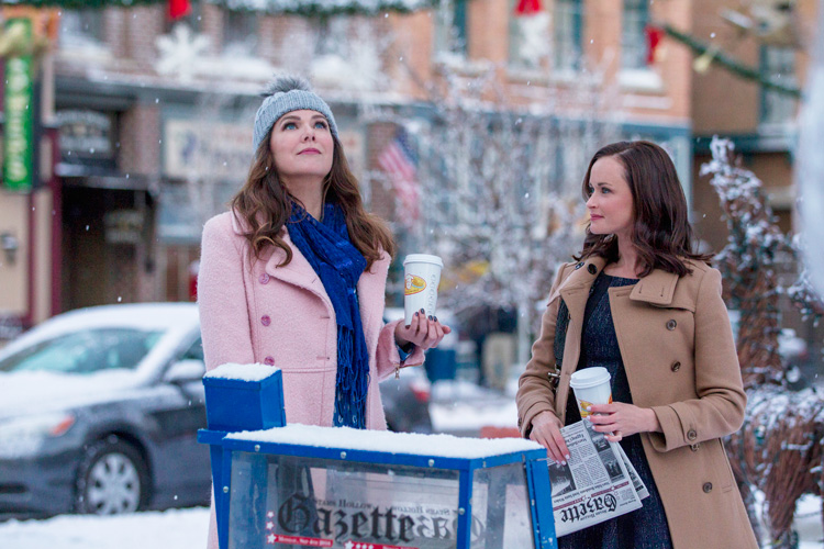 Image result for gilmore girls winter