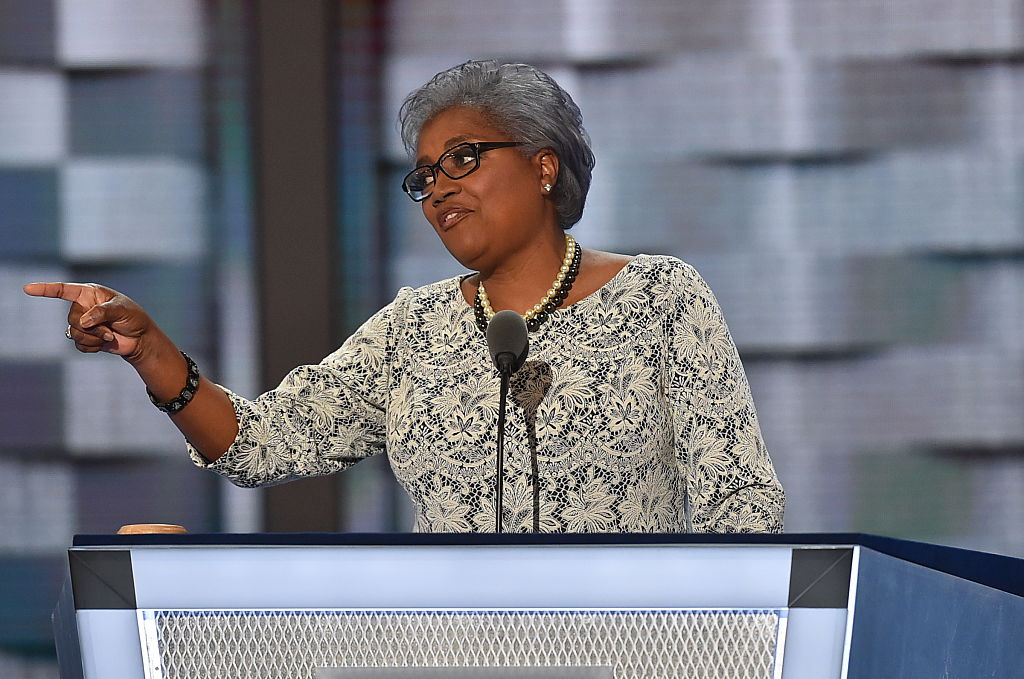 Can we talk about DNC chair Donna Braziles fabulous