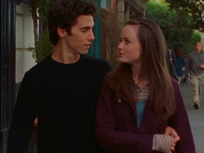 Gilmore Girls Wallpaper Jess Mariano The First Time Rory And Jess Meet In Quot Gilmore Girls A