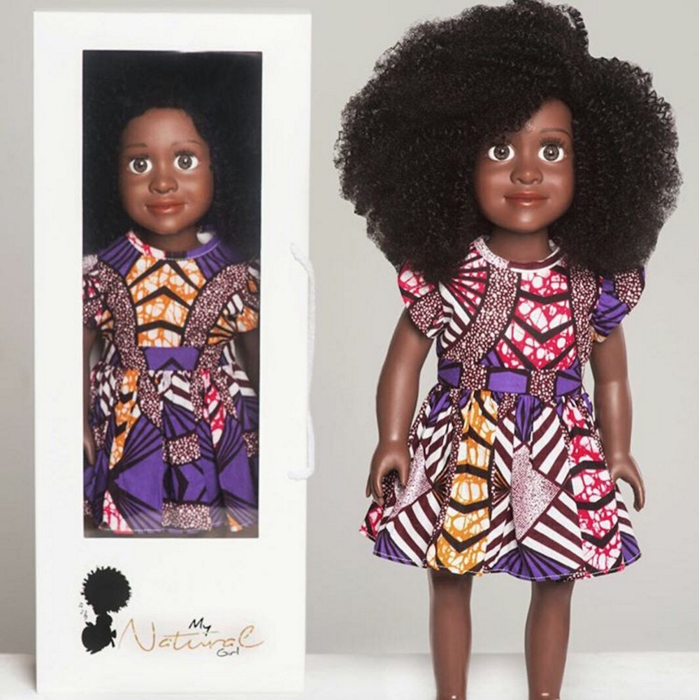 This Natural Haired Doll Is Empowering Little Girls To Love Their