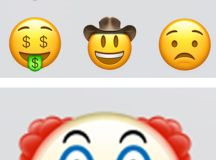 There's a new creepy clown face emoji and we seriously ...