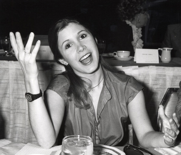 Carrie Fisher 1977