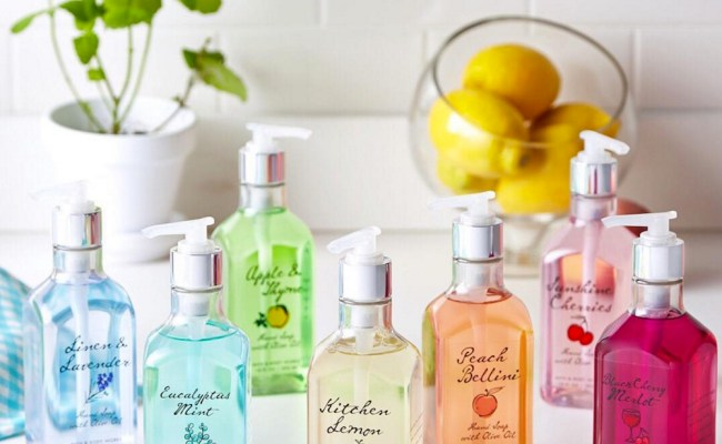 Bath And Body Works Launched Adorable Rainbow Hand Soaps