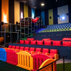 Big Bean Bags Chairs Yellow Patio This Movie Theater Has A Jungle Gym Inside For Kids, Which Is Genius Idea That's Way Overdue