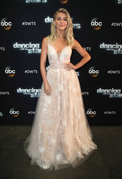 Julianne Hough Has Been Wearing So Many Wedding Dresses On