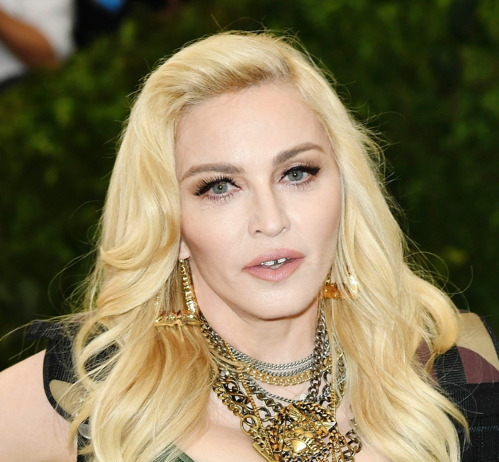 Is Madonna Wearing Camo At The 2017 Met Gala