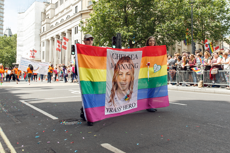 """Chelsea Manning's probably getting her own """"Vogue"""" photoshoot after being released from prison"""