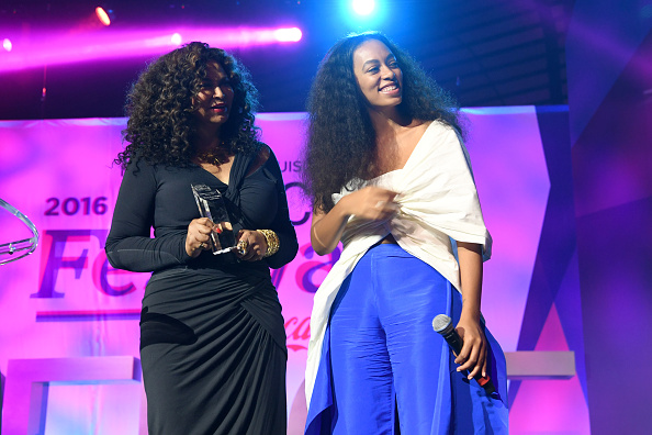 """We can't get over Tina Knowles posting the most """"mom"""" comment on Solange's Instagram"""