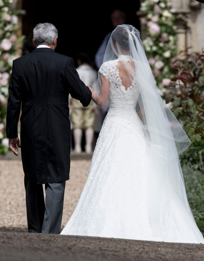 Heres how you can get a lace wedding dress like Pippa