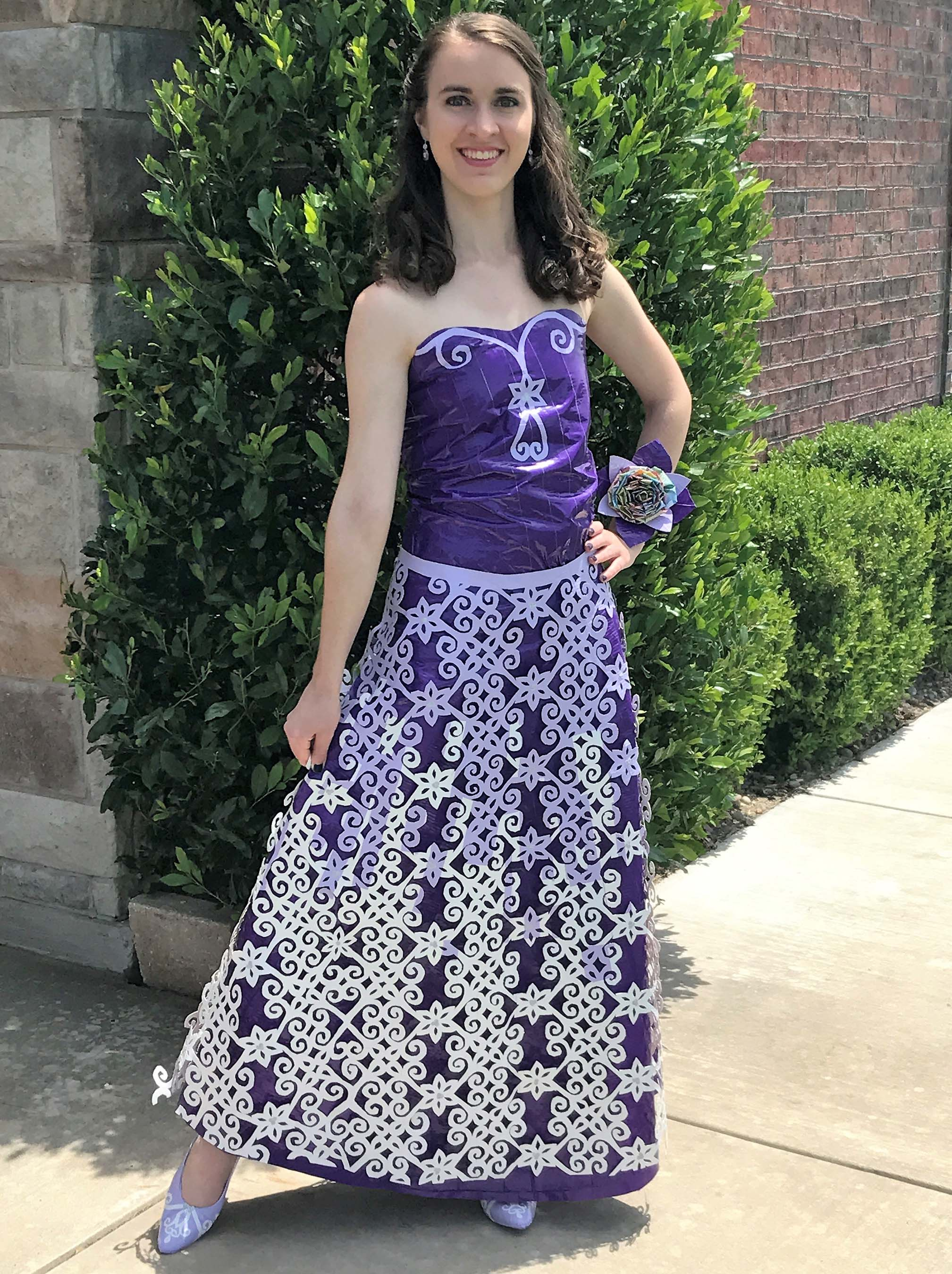 A bunch of teens used duct tape to craft their own tuxes and prom dresses and WOW  HelloGiggles
