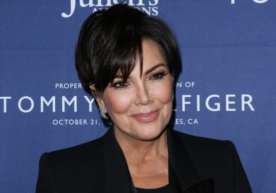 Kris Jenner just went platinum blonde