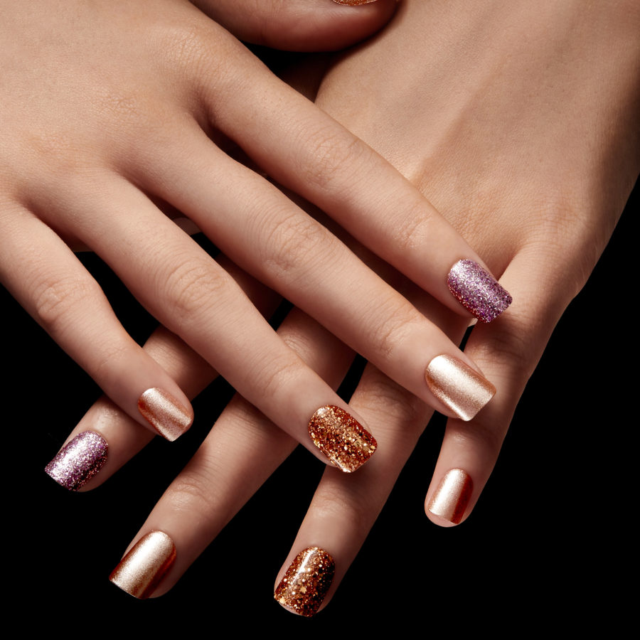 Christian Siriano collaborated with imPress nails on the most fashionable presson nail