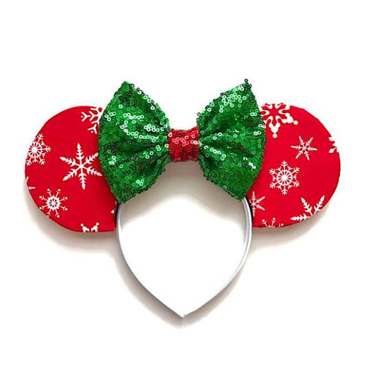 Picture of Snowflake Minnie Mouse Ears