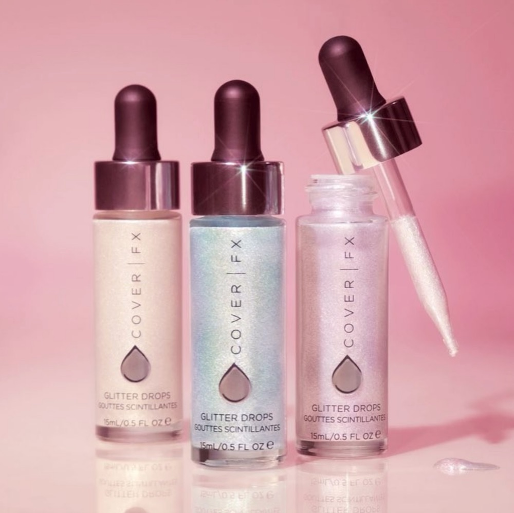 Cover FX Is Launching Three Glitter Drops That Unicorn