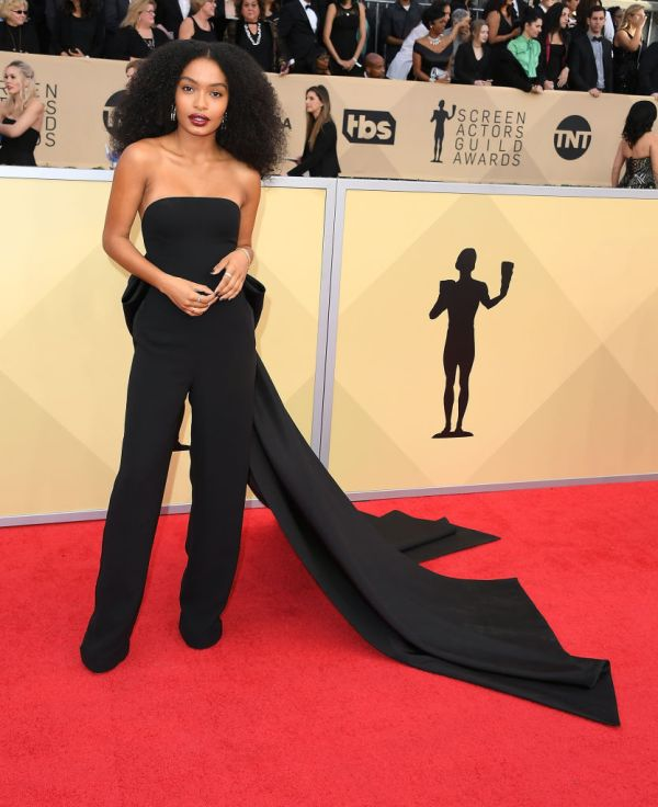 Actresses Wear Black 2018 Sag Awards #timesup Ruled - Hellogiggles
