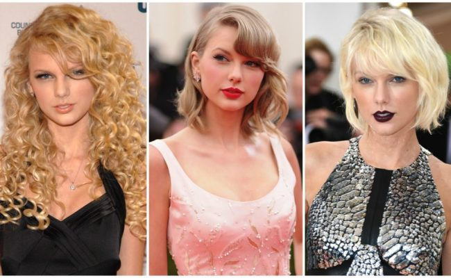 Taylor Swift Beauty Evolution From 2008 Until Now