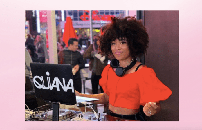 Painter, DJ, and cancer survivor Quiana Parks talks making her passion a full-time job and coping with illness